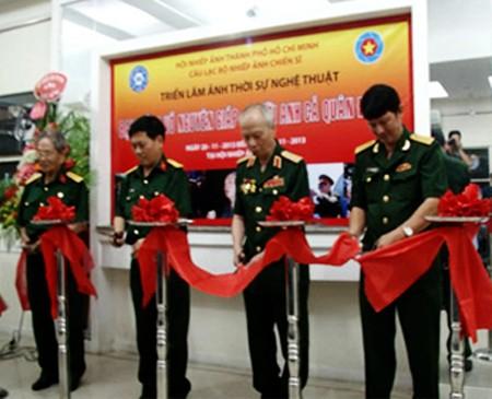 Exposición de fotos sobre general Vo Nguyen Giap en Ciudad Ho Chi Minh - ảnh 1