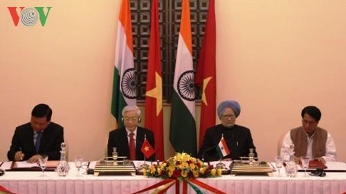 Vietnam e India se esfuerzan por profundizar la asociación estratégica - ảnh 1
