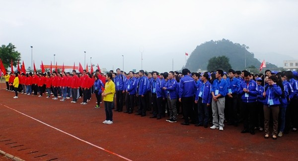 Participan vietnamitas en pre-Festival Juvenil Vietnam-China - ảnh 2
