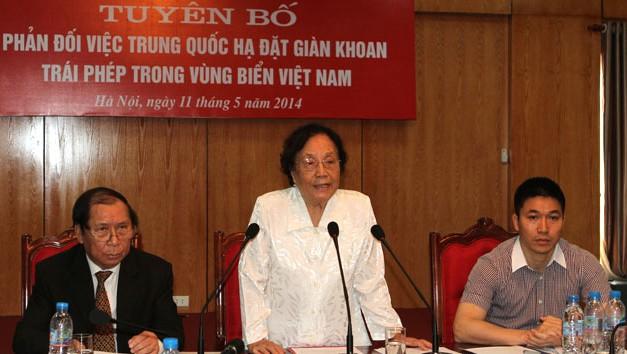 Nguyen Thi Binh: Son sagradas la independencia, la libertad y la soberanía  - ảnh 1