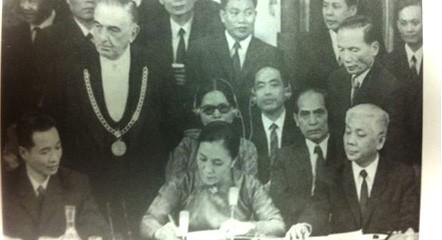 Nguyen Thi Binh: Son sagradas la independencia, la libertad y la soberanía  - ảnh 2