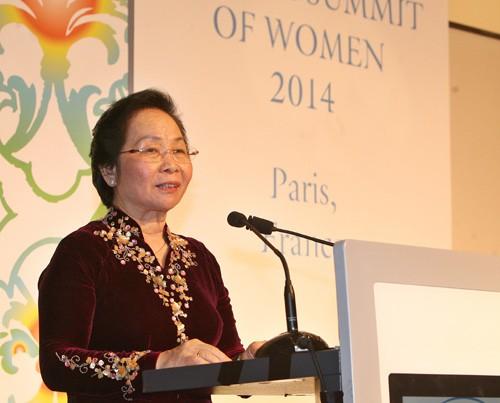 Participa Vietnam en la Cumbre mundial de las mujeres  - ảnh 1
