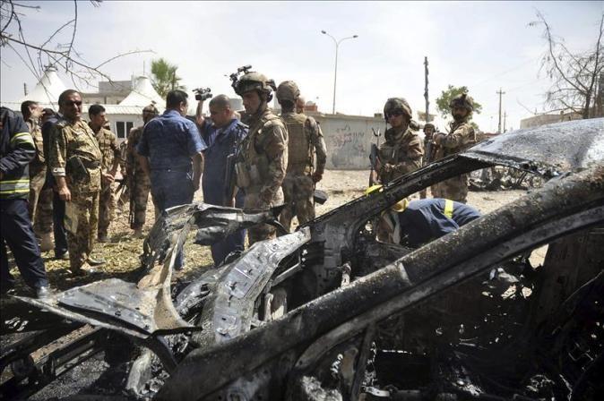 Atentados suicidas en Iraq dejan 170 bajas  - ảnh 1