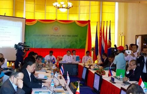 Funcionarios de ASEAN concuerdan en formar un Código de Conducta en el Mar Oriental - ảnh 1