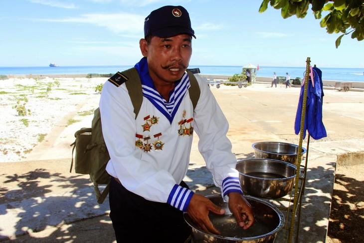 Veterano Tran Van Xuat y sus memorias de Truong Sa - ảnh 1