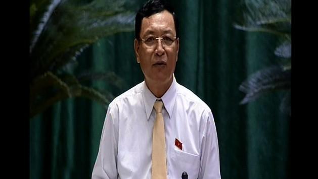 Miembros del Gobierno vietnamita comparecen ante el Parlamento - ảnh 1