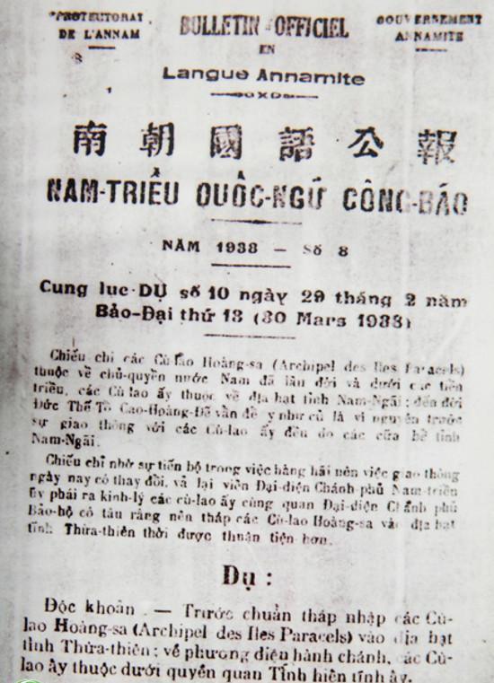 Soberanía territorial en las actividades administrativas de la dinastía Nguyen - ảnh 4