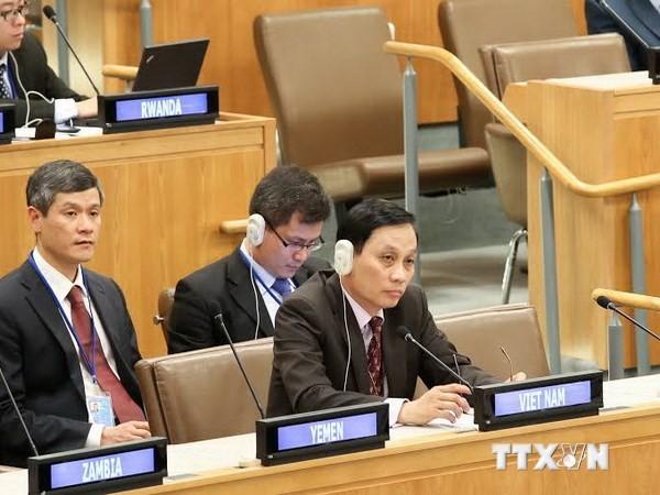 Continúa condenando Vietnam actos ilegales chinos en la Conferencia internacional - ảnh 1