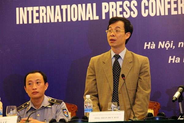Rueda de prensa sobre la tensión en el Mar Oriental: Vietnam rechaza la calumnia de China - ảnh 1