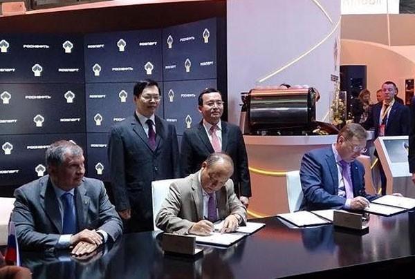 Vietnam y Rusia firman acuerdo de exploración petrolera  - ảnh 1