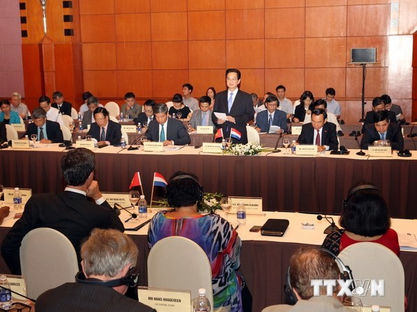 Vietnam y Holanda colaboran en el enfrentamiento al cambio climático - ảnh 1