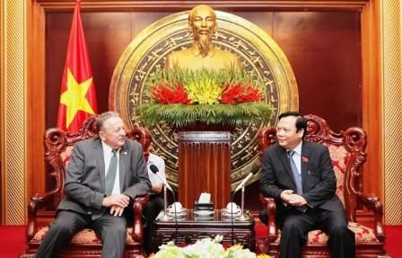 Bielorrusia concede gran importancia al fomento de relaciones con Vietnam - ảnh 1