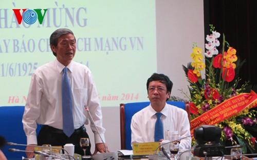 Vietnam celebra el aniversario 89 del Día Nacional del Periodista - ảnh 1