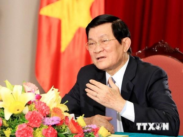 Presidente vietnamita: Es sagrada e inviolable la soberanía territorial - ảnh 1