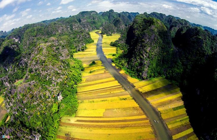 La belleza del conjunto paisajístico de Tràng An - ảnh 9