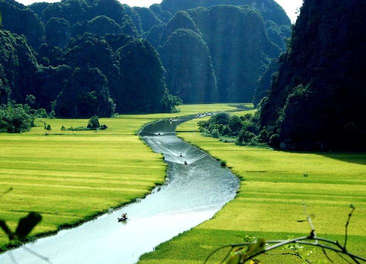 La belleza del conjunto paisajístico de Tràng An - ảnh 10