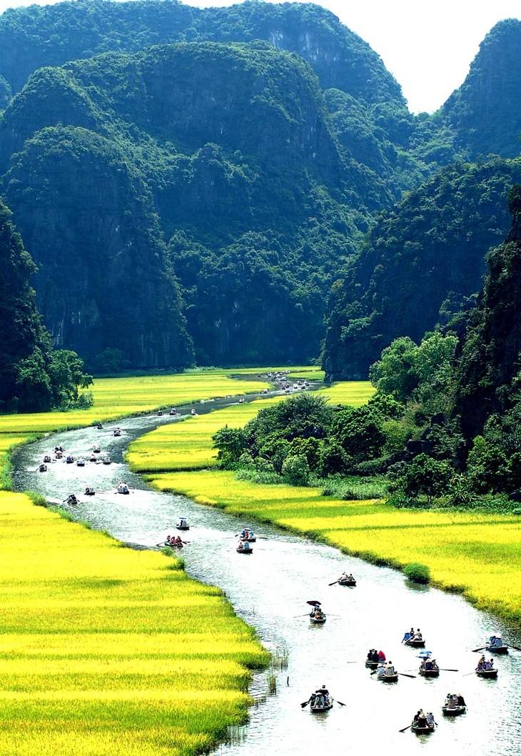 La belleza del conjunto paisajístico de Tràng An - ảnh 11