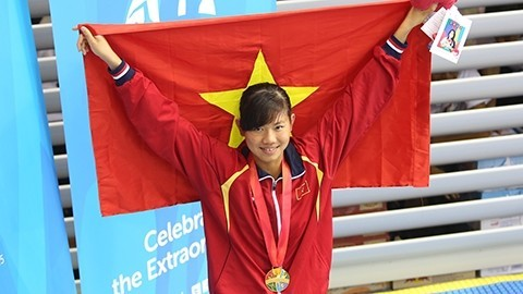 Nguyen Thi Anh Vien, nadadora número uno de Vietnam - ảnh 2