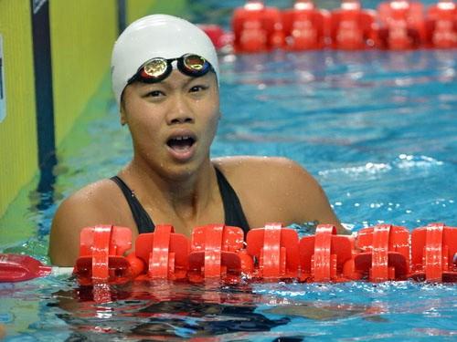 Nguyen Thi Anh Vien, nadadora número uno de Vietnam - ảnh 1