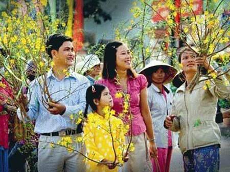 Identidad cultural en fiesta vietnamita del Tet  - ảnh 3
