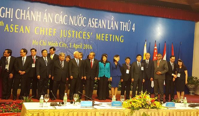 Inauguran Conferencia para Presidentes de Tribunales de la ASEAN - ảnh 1