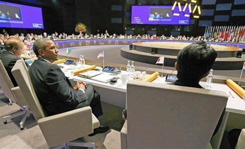 Inauguran Cumbre de Seguridad Nuclear 2016 en Estados Unidos - ảnh 1