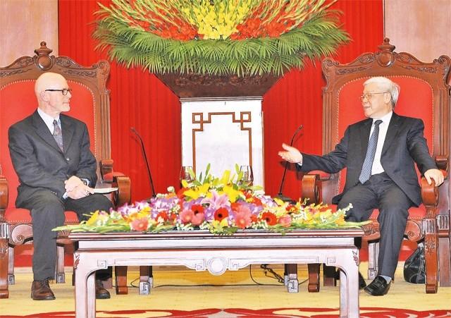 Fortalecen cooperación entre Partidos Comunistas de Vietnam y Estados Unidos - ảnh 1