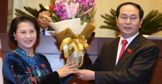 Altos dirigentes mundiales felicitan a nuevos líderes de Vietnam - ảnh 1