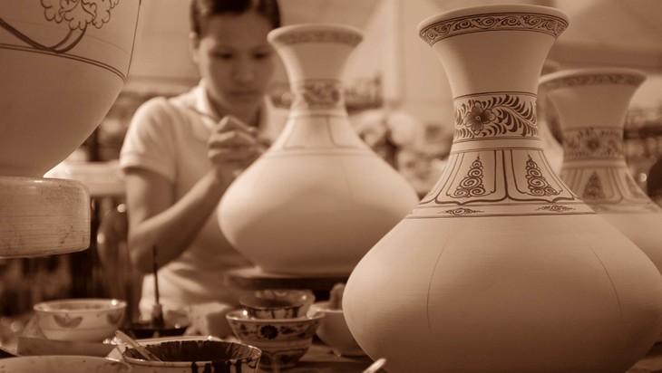 Cerámica de Chu Dau, quintaesencia de la cultura vietnamita - ảnh 3