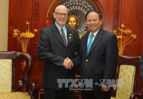 Partido Comunista de Estados Unidos interesado en colaborar con su homólogo vietnamita - ảnh 1