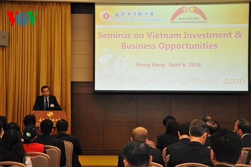 Estimula Vietnam a empresas de Hong Kong y Ma Cao a hacer negocios e invertir en su territorio - ảnh 1