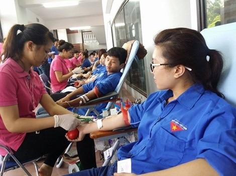 Localidades vietnamitas se suman al Día Nacional de Donación de Sangre  - ảnh 1