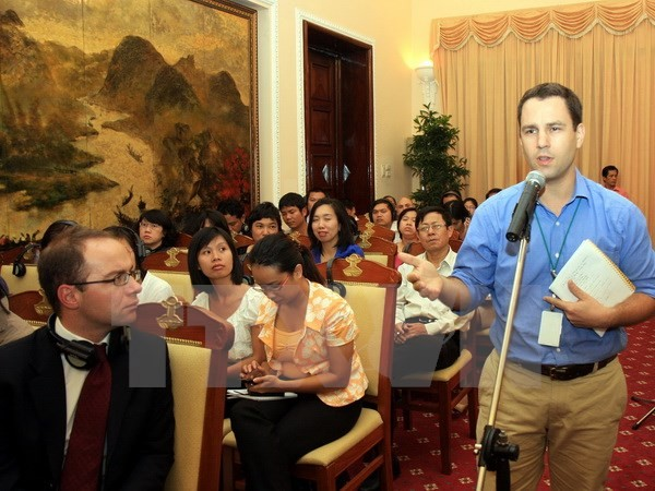 Vietnam apoya actividades de los periodistas extranjeros  - ảnh 1