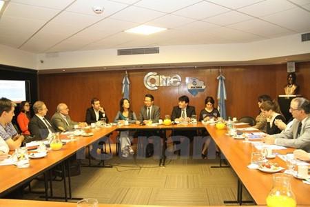 Empresas argentinas se interesan en ampliar su operación en el mercado vietnamita - ảnh 1