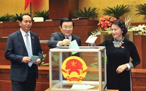 Nueva dirigencia vietnamita: Juramento y determinación de acción - ảnh 1