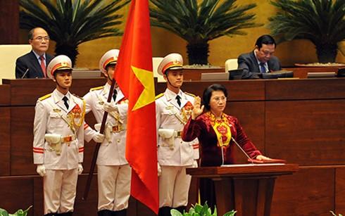 Nueva dirigencia vietnamita: Juramento y determinación de acción - ảnh 2