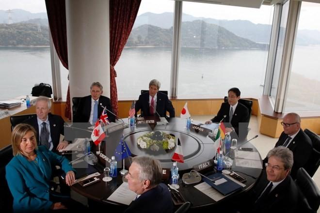 Arranca Cumbre de Exteriores de G7 en Japón - ảnh 1
