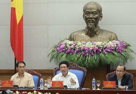 Aceleran en Vietnam preparativos para el Año APEC 2017 - ảnh 1
