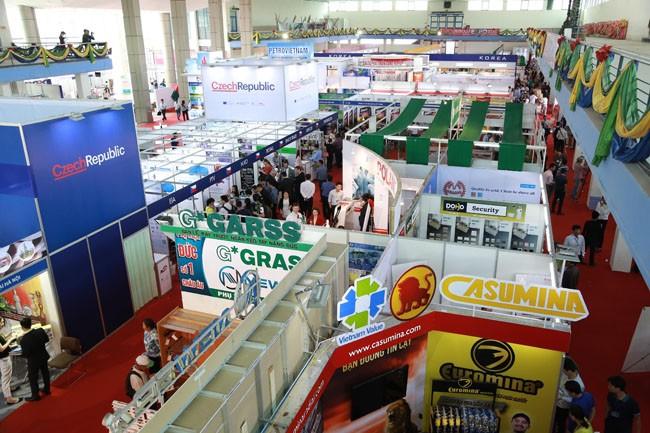 Cientos de empresas participan en Feria Internacional de Comercio de Vietnam - ảnh 1