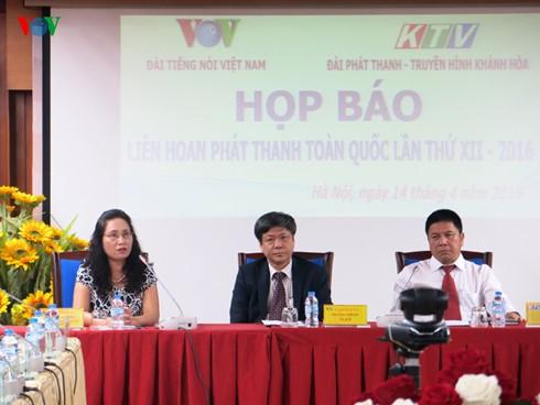 Se inaugurará XII Festival Nacional de Radio en Khanh Hoa - ảnh 1