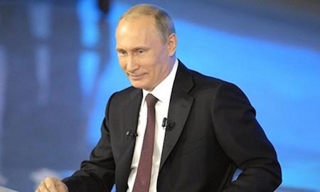 Putin participa en décimo cuarto intercambio online con el pueblo ruso - ảnh 1