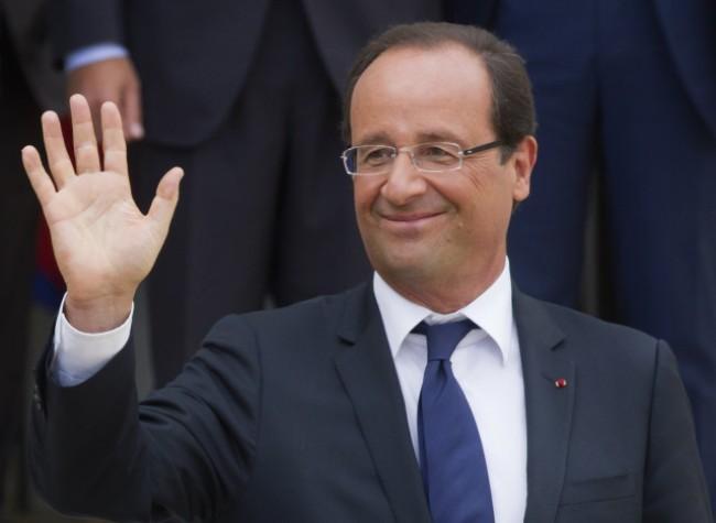 Inicia presidente de Francia visita oficial a Egipto - ảnh 1