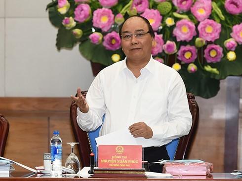 Premier vietnamita insta a elevar la eficacia de lucha contra cambio climático - ảnh 1