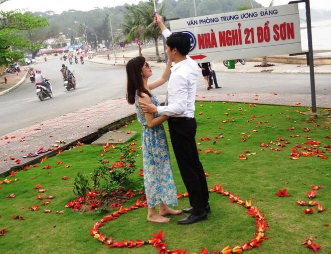 Algodonero rojo, princesa de las flores de ciudad portuaria de Hai Phong - ảnh 8
