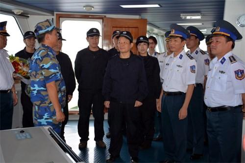 Vietnam y China patrullan conjuntamente zona pesquera común en el Golfo de Tonkín - ảnh 1