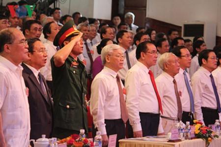 Recuerdan sacrificios y méritos de líder partidista - ảnh 1