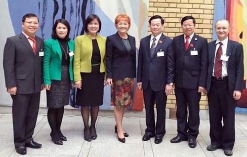 Vietnam busca promover lazos jurídicos con Noruega - ảnh 1