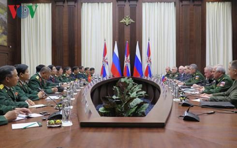 Vietnam y Rusia fortalecen cooperación militar - ảnh 1