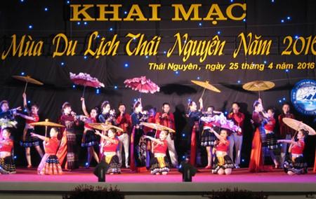 Inaugurada temporada turística de Thai Nguyen 2016 - ảnh 1