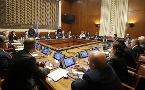 Gobierno sirio califica de positivas las negociaciones con enviado de la ONU - ảnh 1